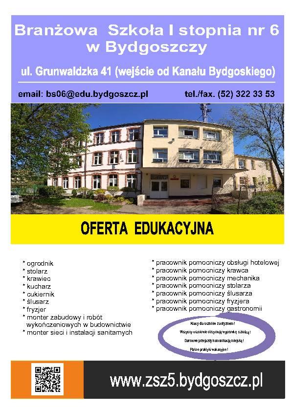 Zasadnicza Szkoła Zawodowa Nr 5aktualności
